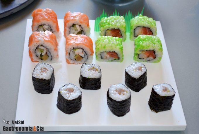 Fraude del pescado en restaurantes de sushi