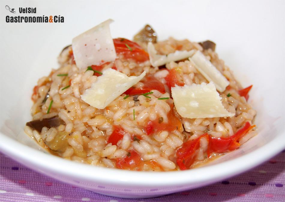 Doce recetas vegetarianas de risotto