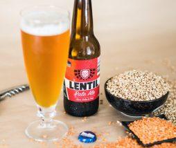 Cerveza australiana de lentejas