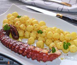 Receta de pulpo con patatas