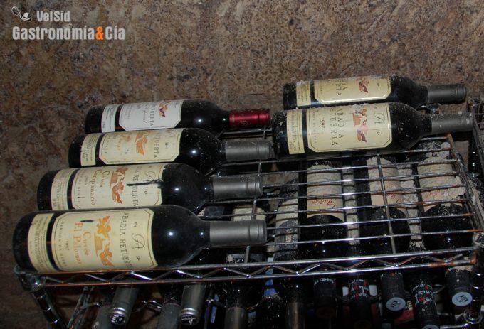Tiempo que se puede guardar un vino