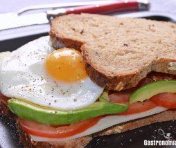 Receta de sándwich integral