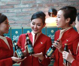 Cerveza especial para avión