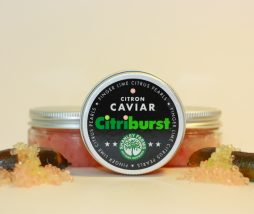 Caviar cítrico sin piel