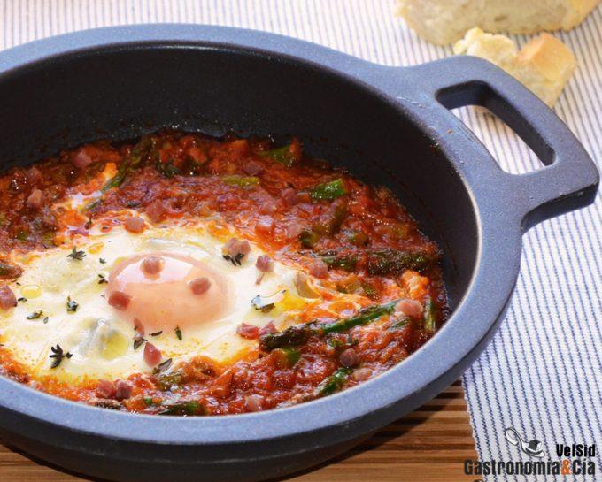 Ocho Recetas De Huevos Con Tomate Para El Lunes Sin Carne