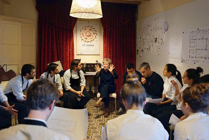Terapia de grupo en un restaurante Michelin