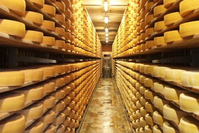 Consumo de queso en Suiza