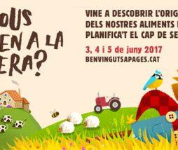 Benvinguts a Pagès 2017, redescubre el origen de lo alimentos