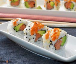 Mayonesa picante para sushi