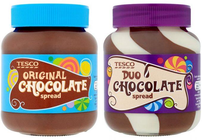 Contenido en azúcar de las cremas de untar de chocolate