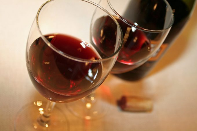 Conservación del vino