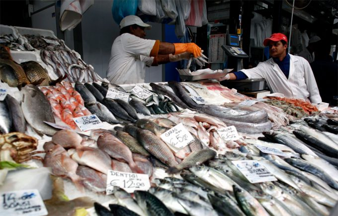 Pesca y trasbordo ilegal de pescado