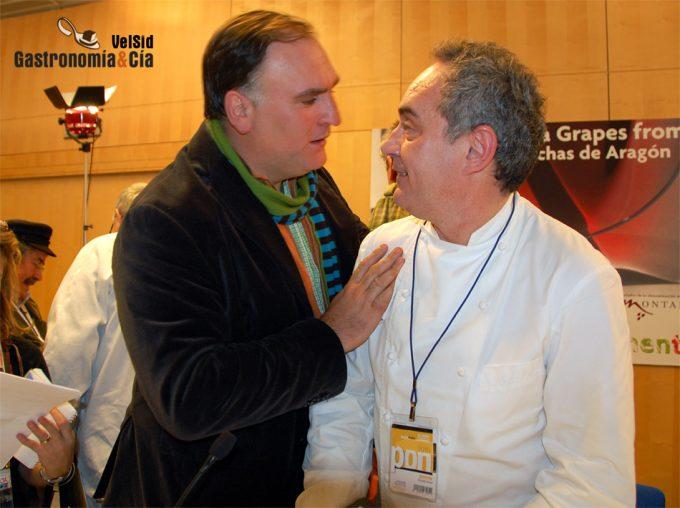 Ferrán Adrià y José Andrés