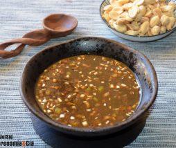 Receta de salsa para verduras