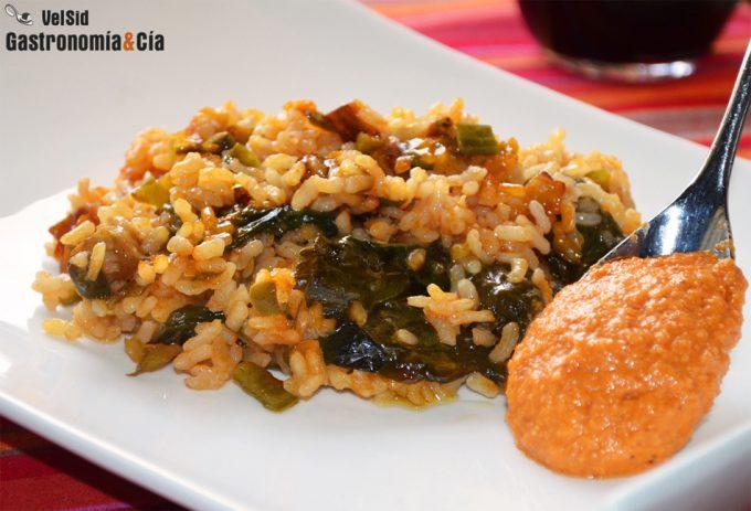 Doce recetas vegetarianas con arroz