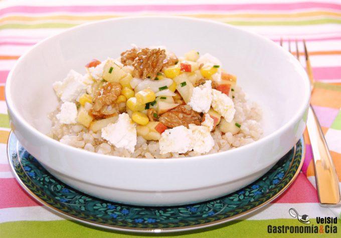 Salvado de arroz