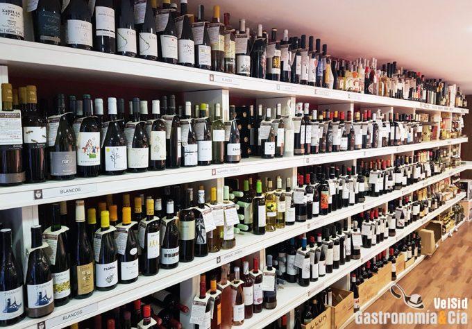Etiquetas de los vinos