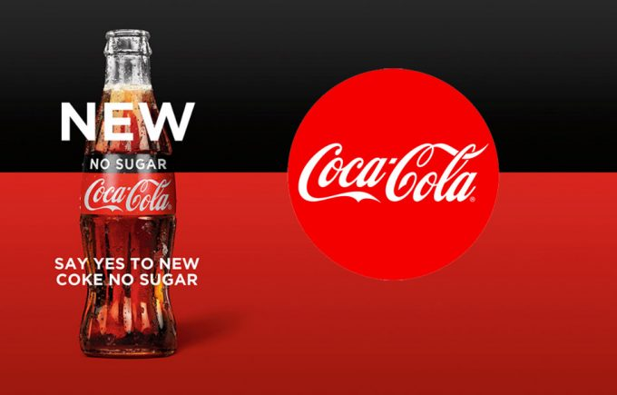Coca Cola sin azúcar en Australia