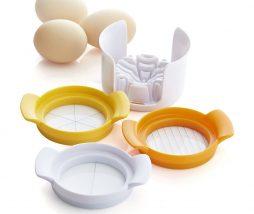Cortador de huevos duros