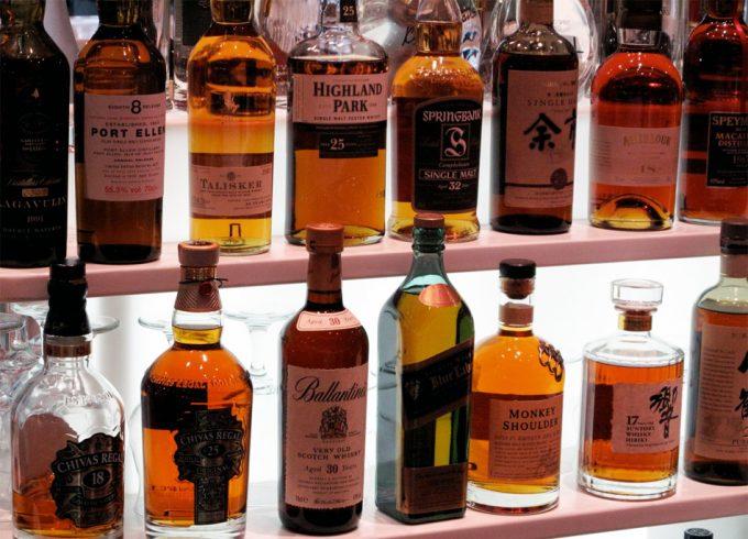 Análisis tipos de whisky