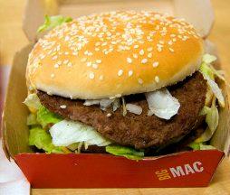 Calificar la comida rápida