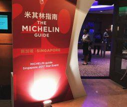 Segunda edición de la Guía Michelin Singapur