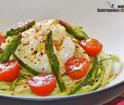 Recetas de espaguetis de calabacín