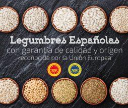 Legumbres producidas en España