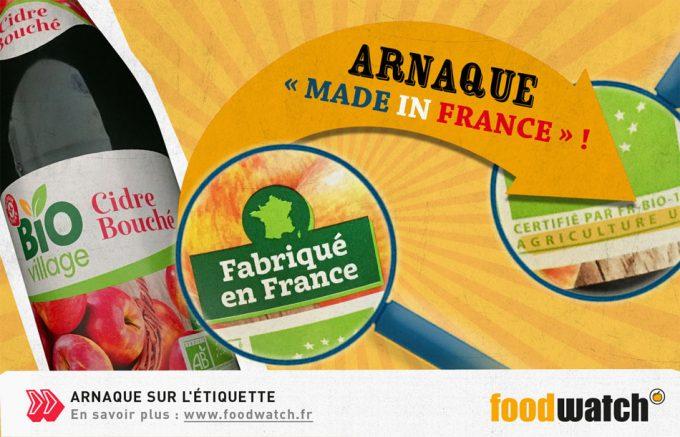 Fraude con los alimentos Made in France