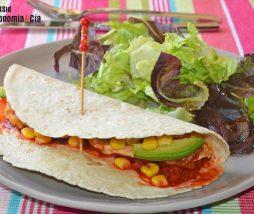 Receta de tacos mexicanos con kimchi