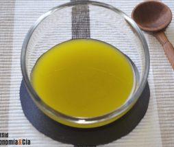 Receta de vinagreta de lima