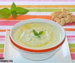 Pesto bajo en grasas y rico en proteínas