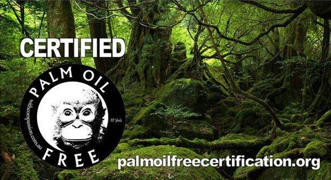 certificación sin aceite de palma