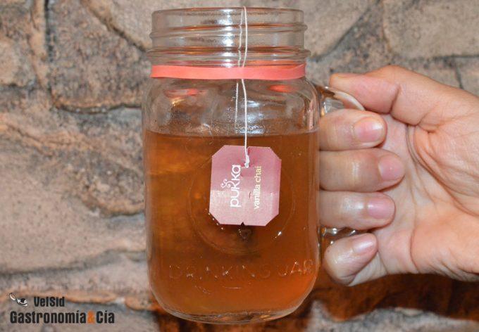 Bolsita de té o infusión