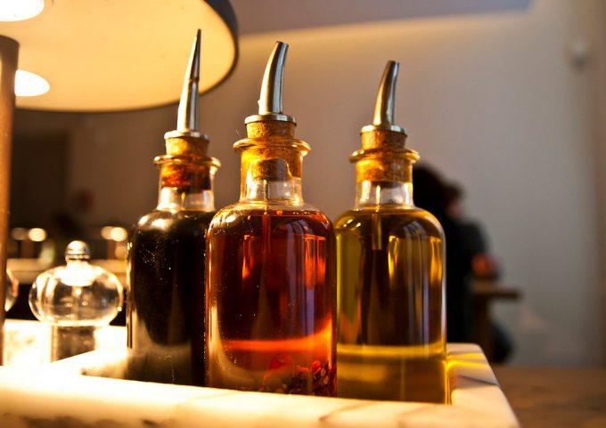 botellas irrellenables de aceite