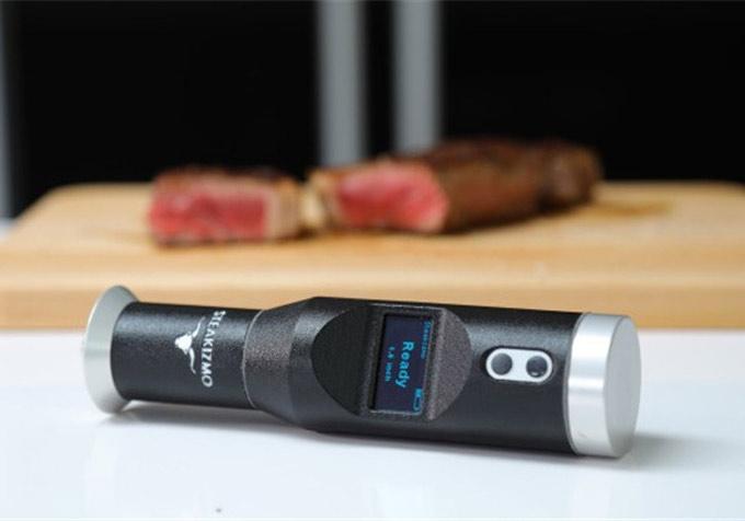 Sensor para controlar la cocción de la carne
