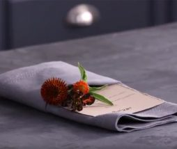Doblar servilleta de tela