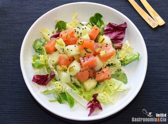Añadir aceite de soja a las ensaladas aumenta la absorción de vitaminas y micronutrientes