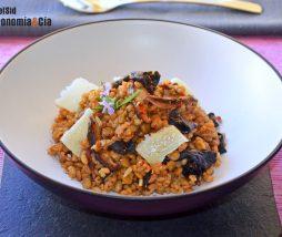 Receta de cereales y legumbres