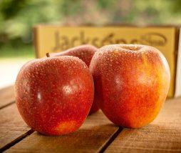 Comer manzanas con piel