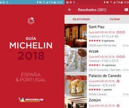 App Guía Michelin España