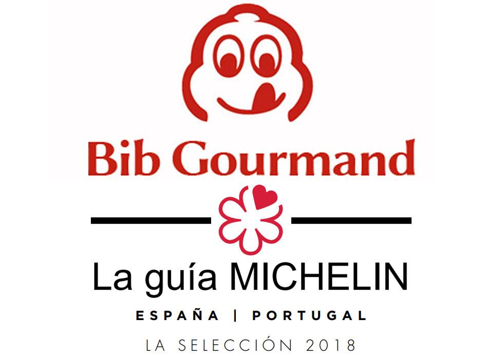 Restaurantes Bib Gourmand de España 2018