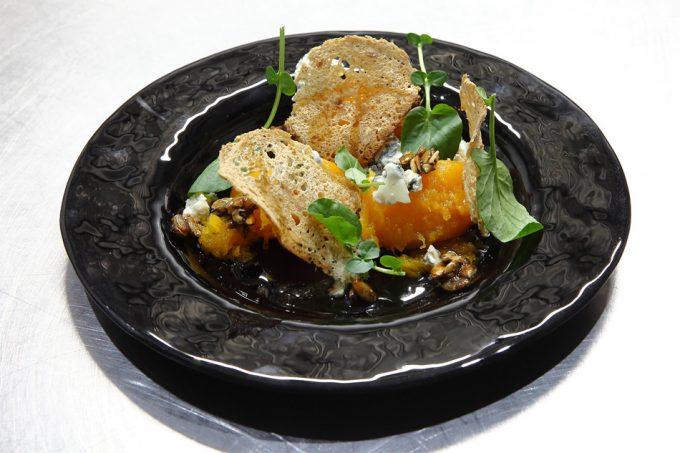 Calabaza con queso azul de Germán Carrizo y Carito Lourenço (Fierro)