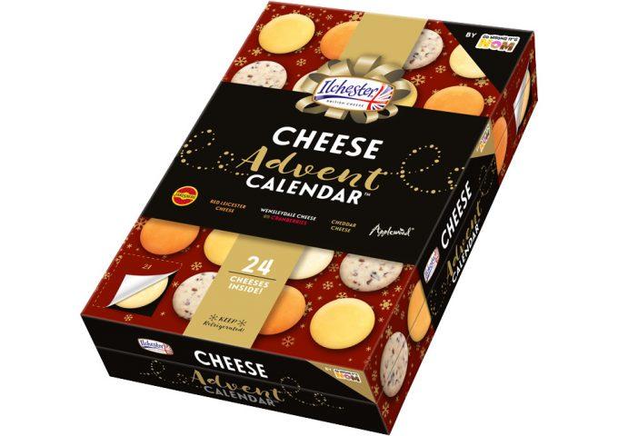 Calendario de Adviento de queso, o de lo que tú quieras