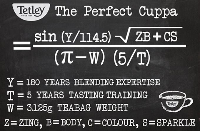 Ecuación del té