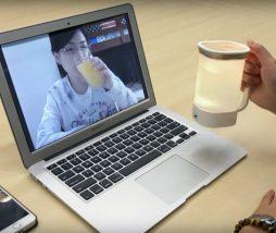 Compartir el sabor de los alimentos y las bebidas con otros usuarios a través de internet
