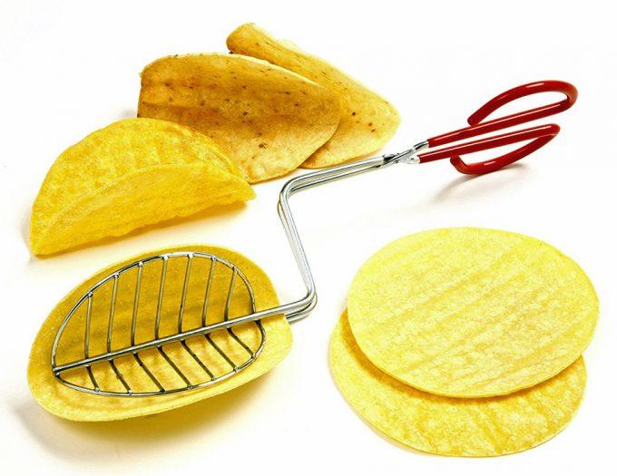 Pinza para freír tortillas mexicanas. Utensilio de cocina c5eaa89b0a42