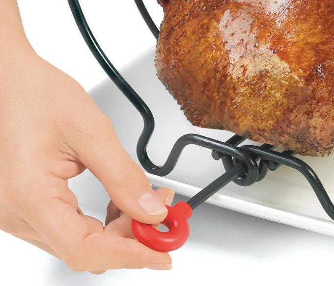 Rejilla para asar y servir asados