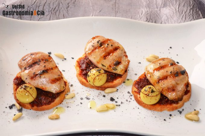 Recetas de aperitivos con carne para navidad gastronom a for Platos para aperitivos