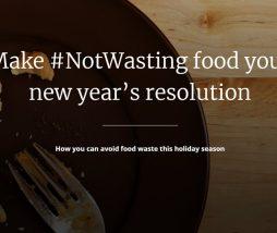 Desperdicio de comida en Navidad